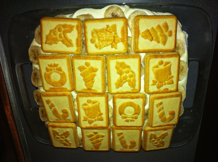 Paula Dean's Chessman Banana Pudding
