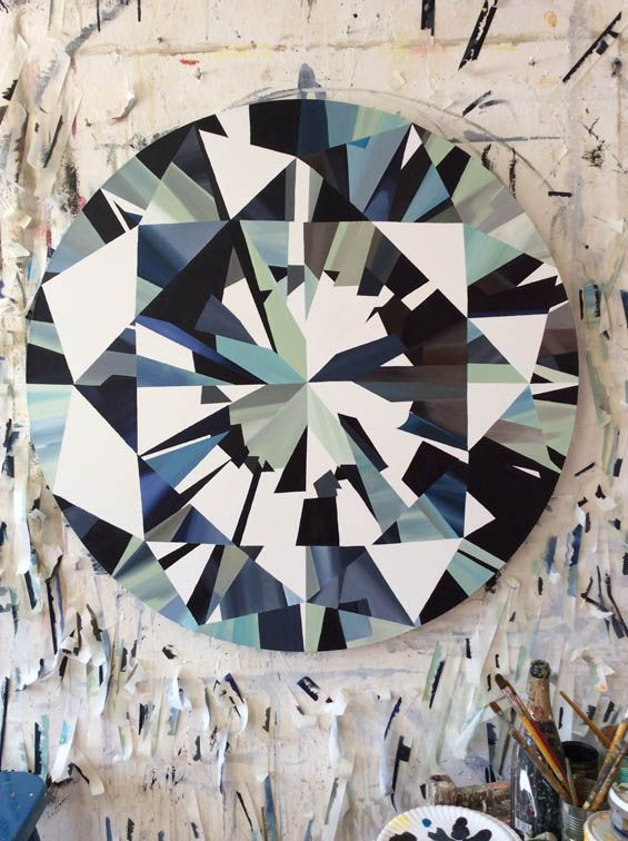 All That Glitters Is Not Gold: Striking Diamond Paintings By South African Artist Kurt Pio