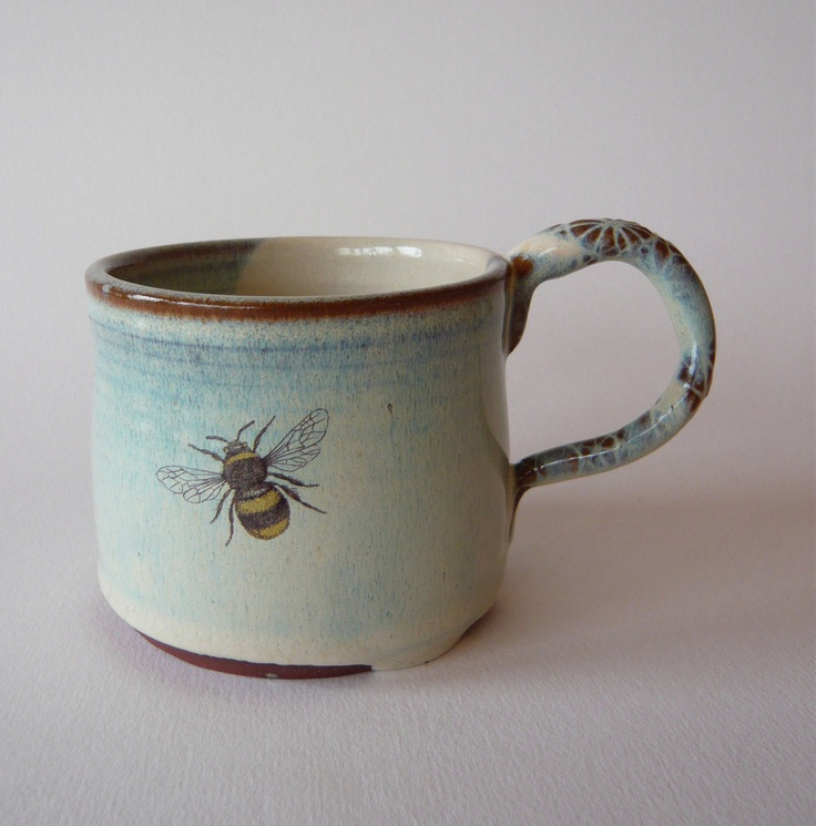 Bee Mug by Julia Smith