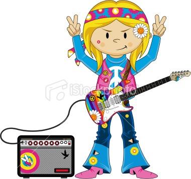 Little cute girl cartoon