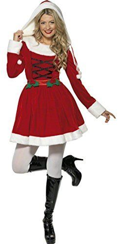cool       £24.99  If you're looking for an elegant Santa costume that is comfortable to wear, not too short and fits well then our Miss Santa ou...  Check more at http://fisheyepix.co.uk/shop/ladies-miss-santa-christmas-fancy-dress-costume-small-size-8-10/