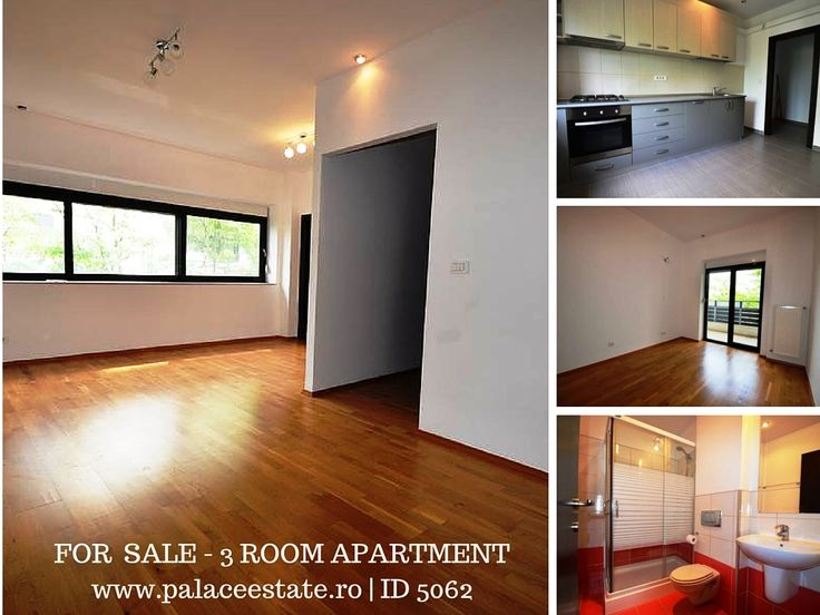 The apartment has an usable area of 97 square meters, structured as two bedrooms, two bathrooms, kitchen, dining area and living room. Benefits of one parking place. The property will be sold unfurnished. www.palaceestate.ro | ID 5062