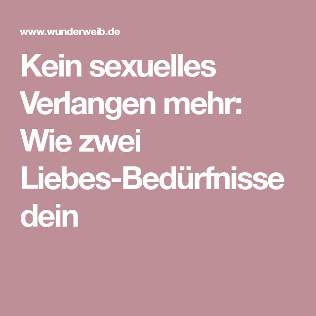 kein sexuelles Verlangen