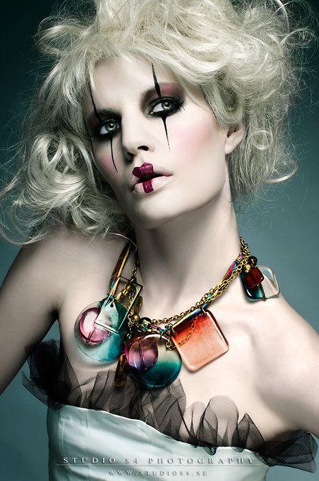 High Fashion Makeup [ Frownies.com ] #fashion
