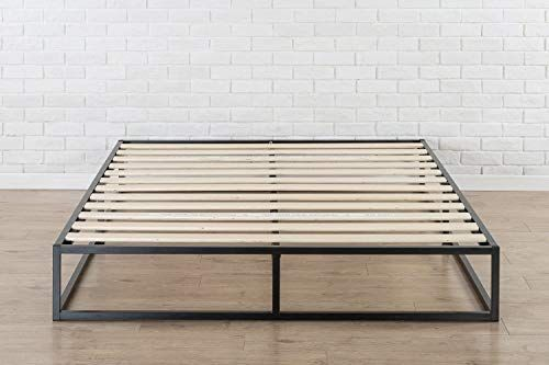 Zinus Joseph Metal Platforma Bed Frame 10 Inches Queen Zinus In 2020 Bed Frame Mattress Low Profile Bed Frame Bed Frame