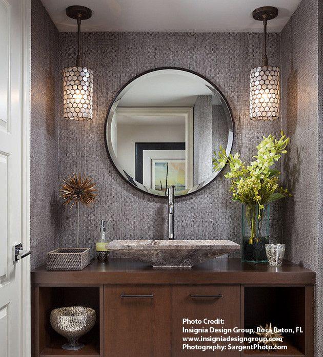 Best 25+ Powder room vanity ideas on Pinterest | Hexagon ...