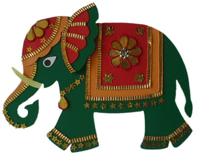 Artsy Craftsy Mom: Darling Elephant Crafts