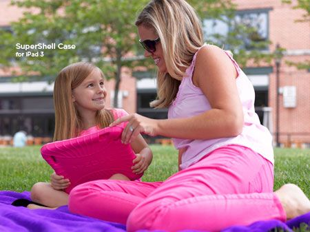 The iPad Supershell. For Women with kids using their iPad.
