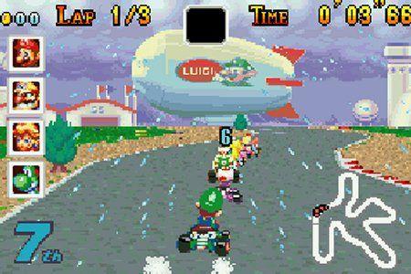 Mario Kart : Super Circuit - GBA