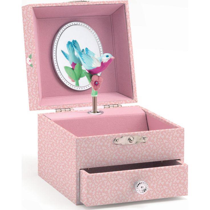 Boîte à bijoux musicale Mélodie du pinson - Djeco
