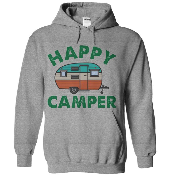 Happy Camper T Shirt - awesomethreadz