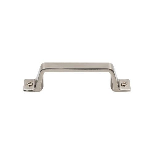 top knobs channing 3 inch center to center handle cabinet pull from the ba brushed satin nickel cabinet hardware pulls handle