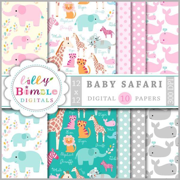 Baby Safari Papers