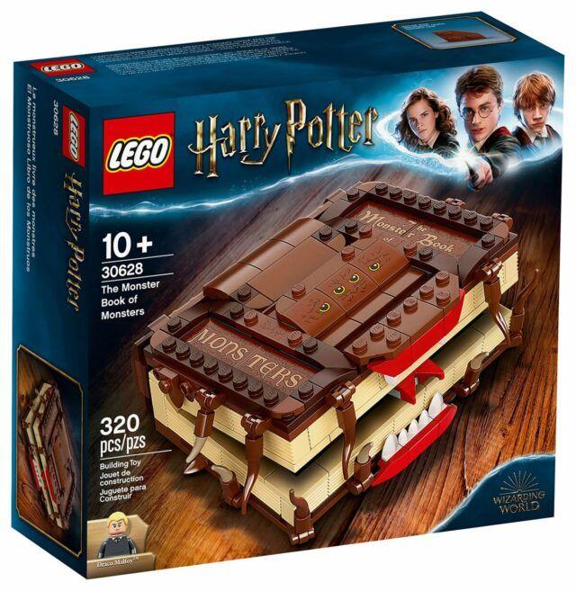Lego Harry Potter 30628 The Monster Book Of Monsters Bientot Offert Sur Le Shop Lego Hellobricks Lego Harry Potter Lego Harry Potter