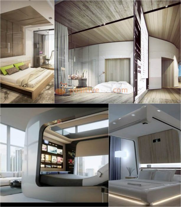 50 High Tech Interior Design Ideas Modern Design Ideas With Photos With Images Bedroom Design Styles High Tech Interior Interior Design Bedroom