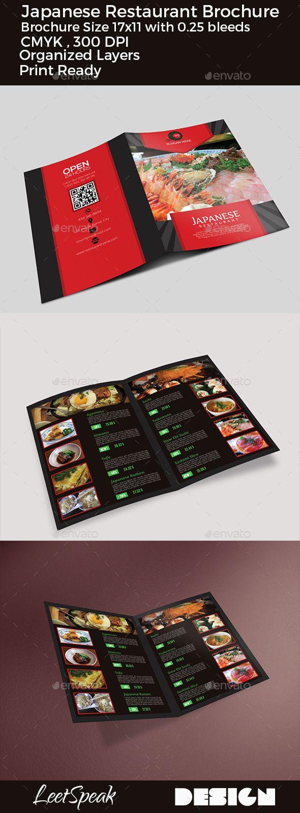 25 best ideas about Restaurant brochure – Restarunt Brochure