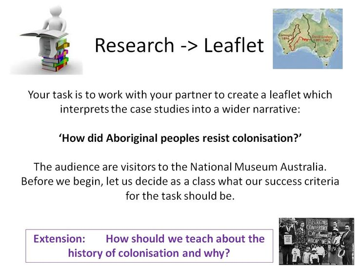In this lesson, students use a range of case studies to examine the impact of colonisation on indigenous peoples