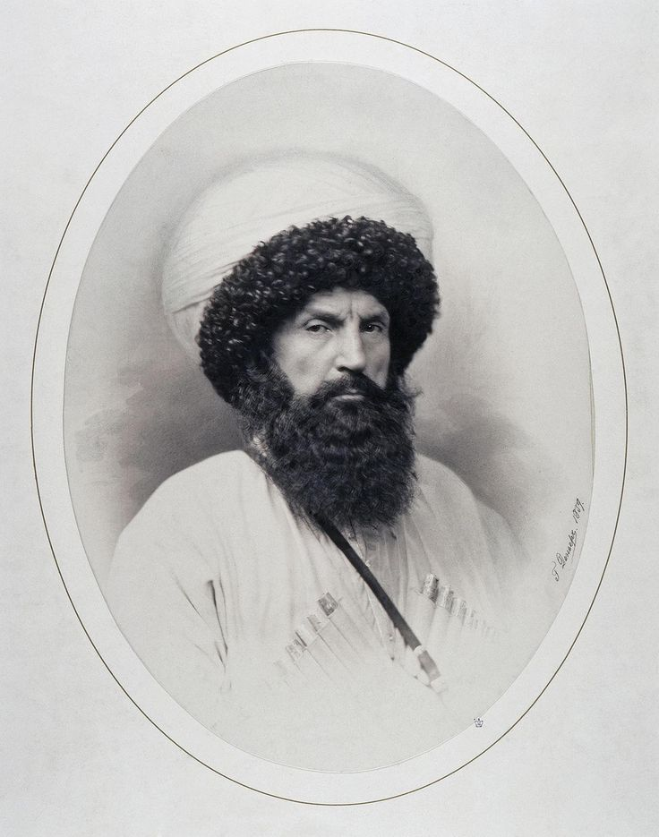 Портрет имама Шамиля. 1859