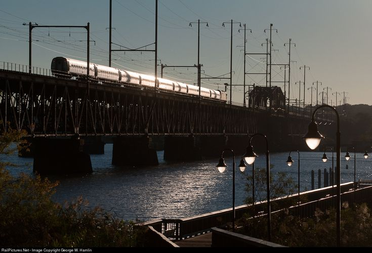 RailPictures.Net Photo: AMTK Amtrak Siemens ACS-64 at Perryville, Maryland by George W. Hamlin