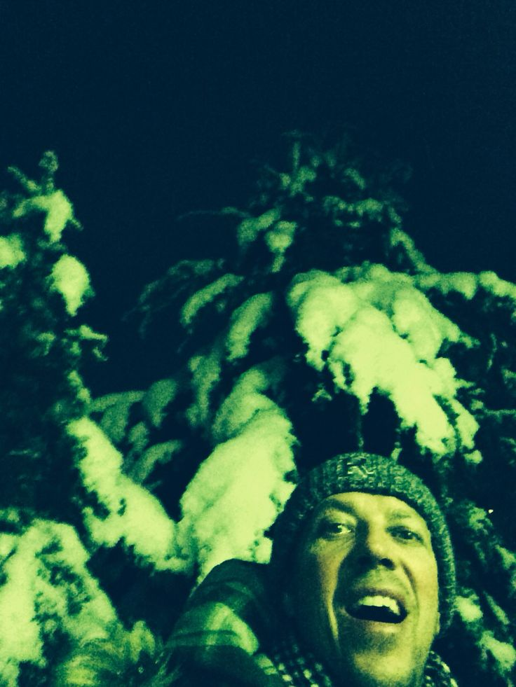 Talvinen etupiha