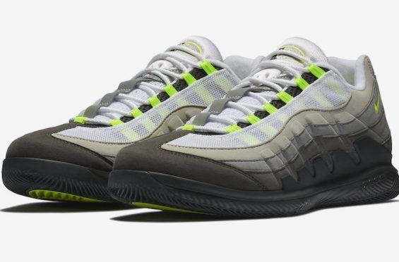 Release Date: NikeCourt Vapor RF x Air Max 95 Neon | Air max