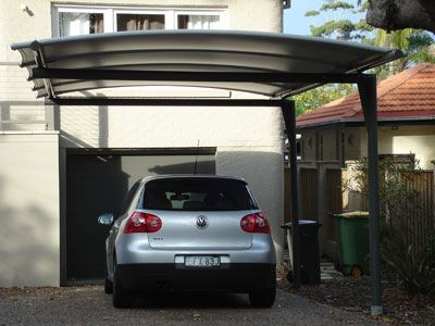 PVC Carport Shade Structure