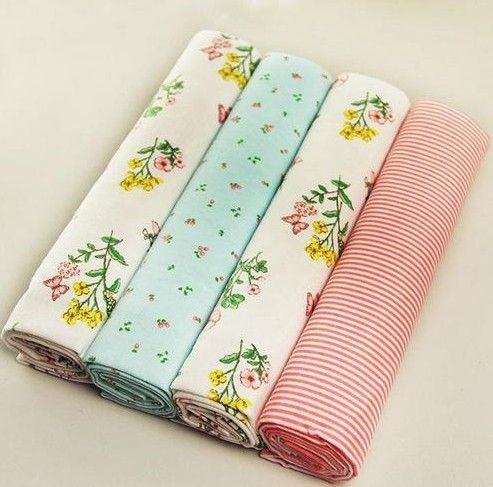 2016 New 4 pcs/lot bed sheet 102*76cm newborn Baby bed sheets crib Flannel and Cotton infant cot sheets Bedding Set