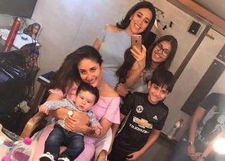 Taimur Ali Khan accompanies mommy Kareena Kapoor Khan to shoot – photos