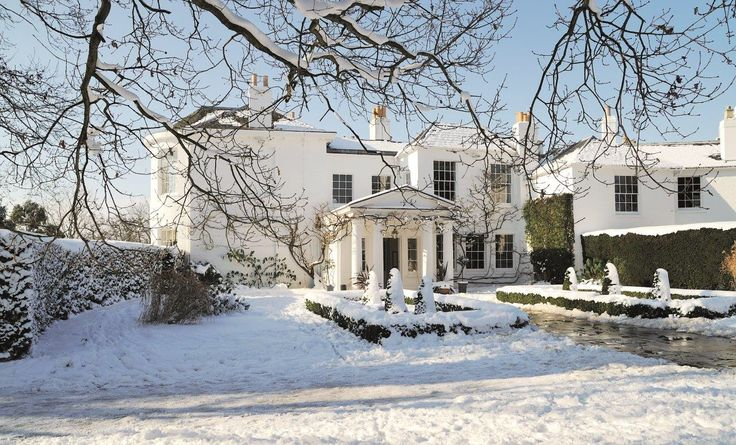 Snow at the Lodge