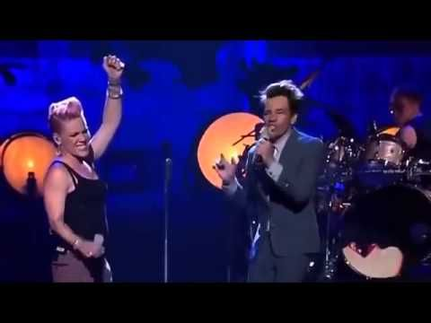 JUST GIVE ME A REASON - Pink feat. Nate Ruess Live
