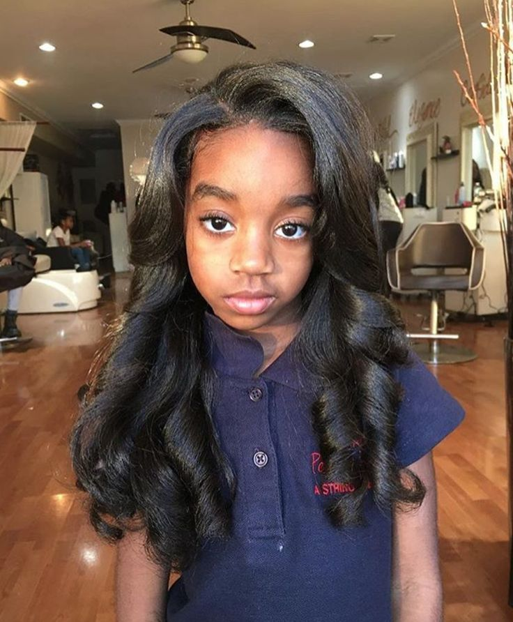 Black Hairstyles For Long Hair Fair 305 Best Black Girls Can Grow Long Hair Images On Pinterest