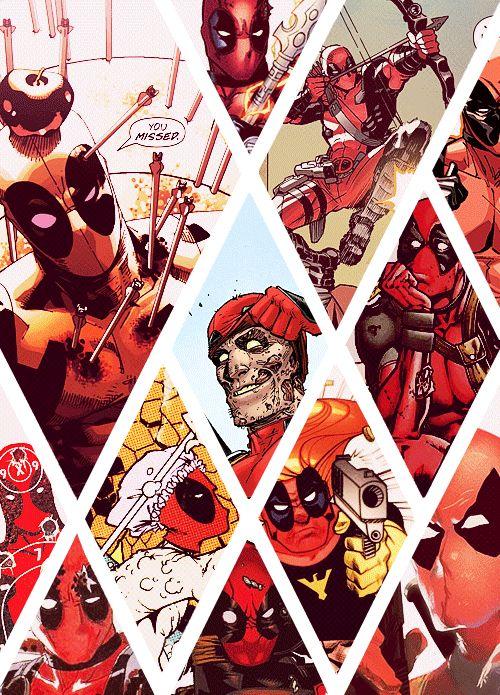 "Wade Wilson/Deadpool ""Shhhhh. My common sense is tingling."""