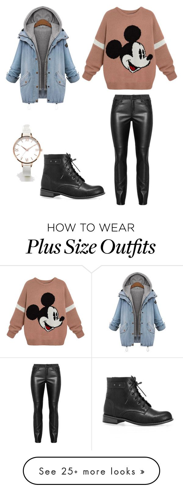 """""""Plus size outfit"""" by nena0700 on Polyvore featuring ASOS Curve and Avenue"""