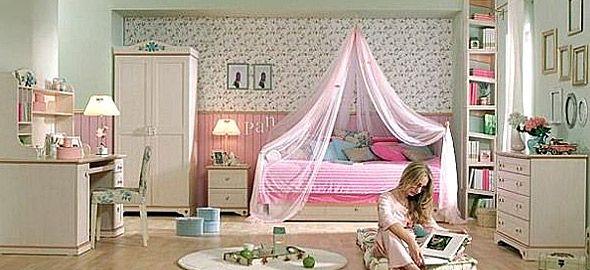 Κοριτσίστικα δωμάτια: Για όσες νιώθουν πριγκίπισσες