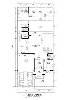 Desain Rumah dan Kos di Anjasmoro, Semarang   vano-architect