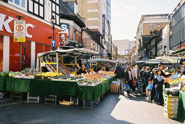 Surrey Street Market Croydon London