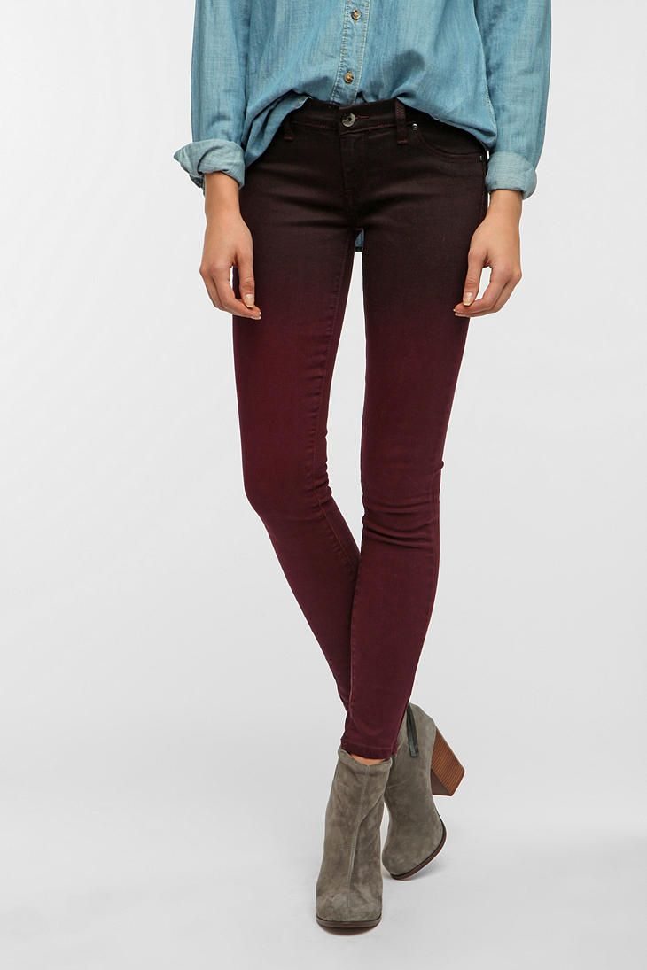 BLANKNYC Ombre Skinny Jean:  be still, my beating heart!  My favorite color, now in ombre ... too gorgeous.