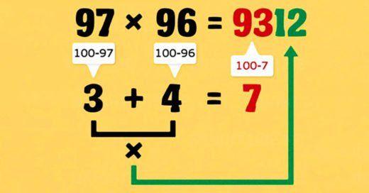 Estoy segura de que si hubieraconocidoestos trucos matemáticos cuando estaba en la escuela no les tendría que haberpagado a mis compañeros para que me hicieran la tarea. ¡Ja! Si estás estudiando y tu coco son las matemáticas, estos 10 simples trucos te mostrarán un mejor camino para no repetir
