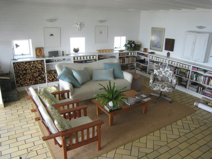 Lounge interior Stonepine House Simon's Town by Erica Moodie