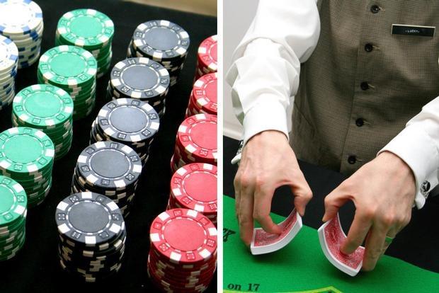 Party poker hostess