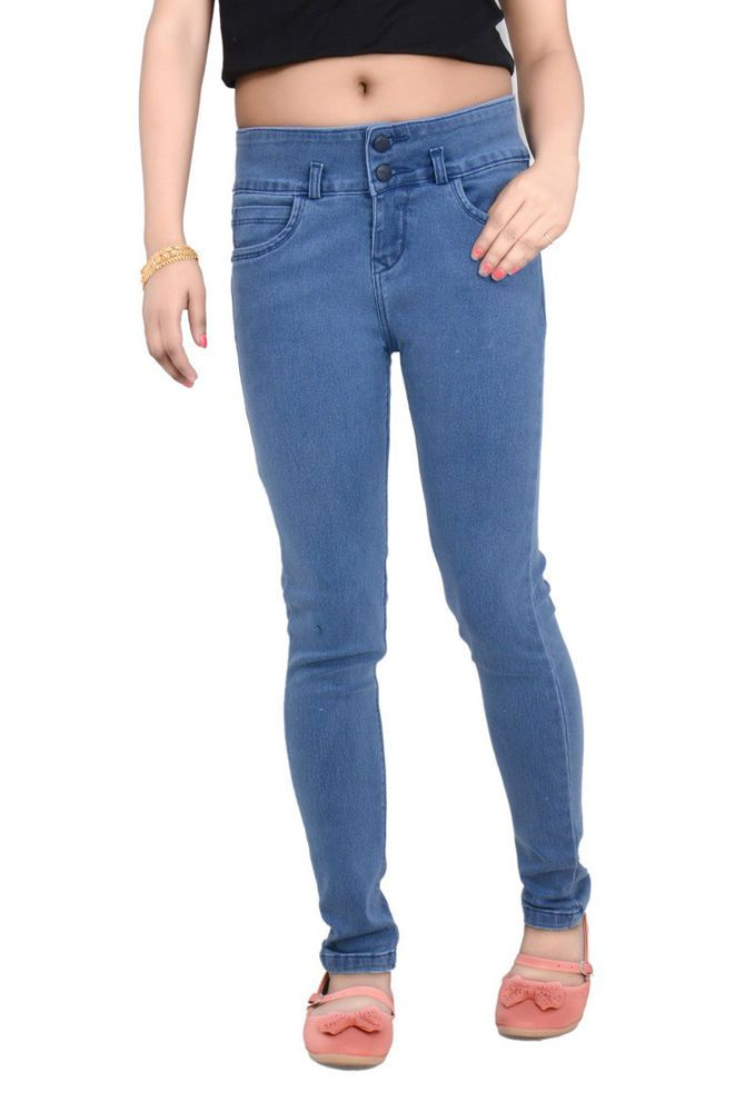 Fasdest Women s/Ladies Stretchable Slimfit Highwaist Jeans #TU206 | eBay