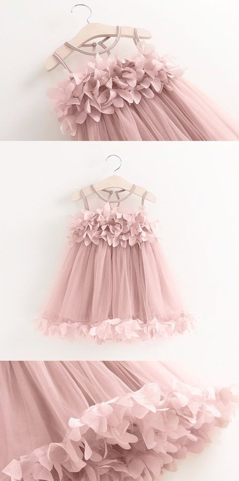 """The Bella"" Flower Girl Dress – Pop Sparkle"