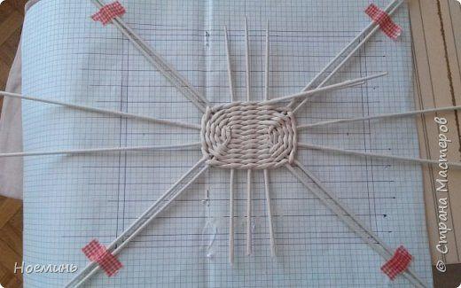 szögletes alap Поделка изделие Плетение Коробулька Трубочки бумажные фото 11