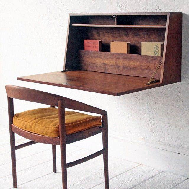 Elite Floating Desk Fold Up For 2019 Mid Century Desk Mid Century Cabinet Mid Century Modern Desk