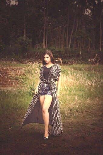 Talent by Lupita Winda wardrobe by Zensy Famous Salatiga Indonesia