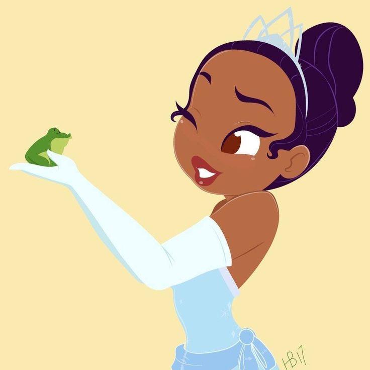Hollie Ballard Art | Tiana & Naveen | The Princess & the Frog | La Princesa y el Sapo | @Dgiiirls
