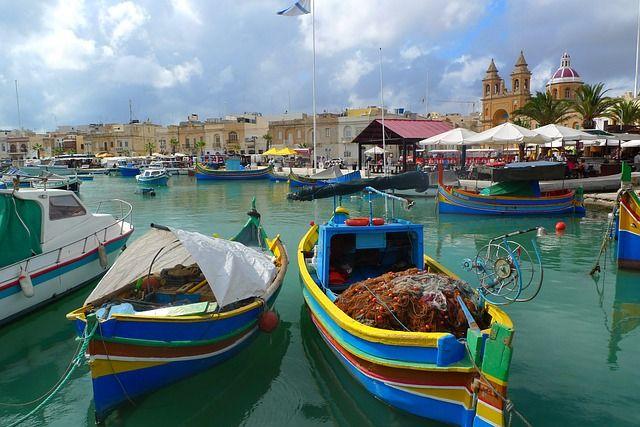 Port, Marsaxlokk, Malta