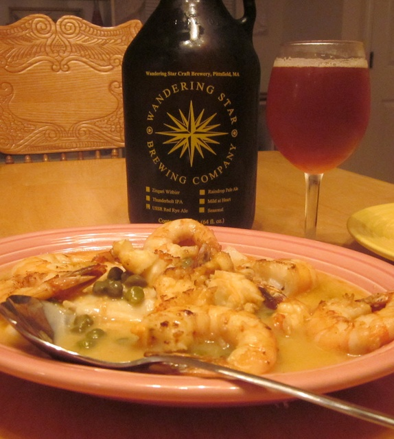 ... Star's slightly sour Saison sparkled with a snappy Sole Piccata