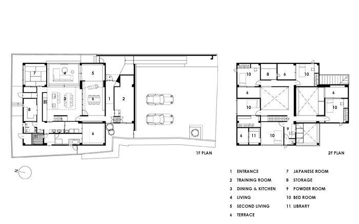 「伊賀上野の家」 連続性のあるリビング・ダイニング・キッチンと吹抜けの空間が特徴です