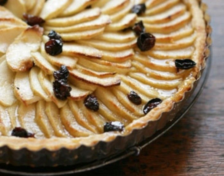 This twist on a traditional apple tart is a perfect finish to a roasted autumnal feast.